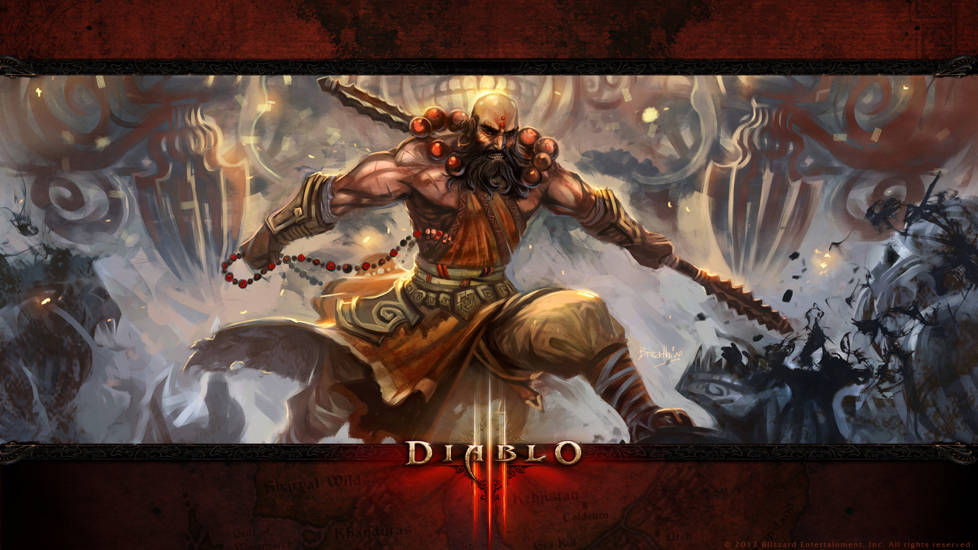 Paladin Diablo 3 Wallpaper