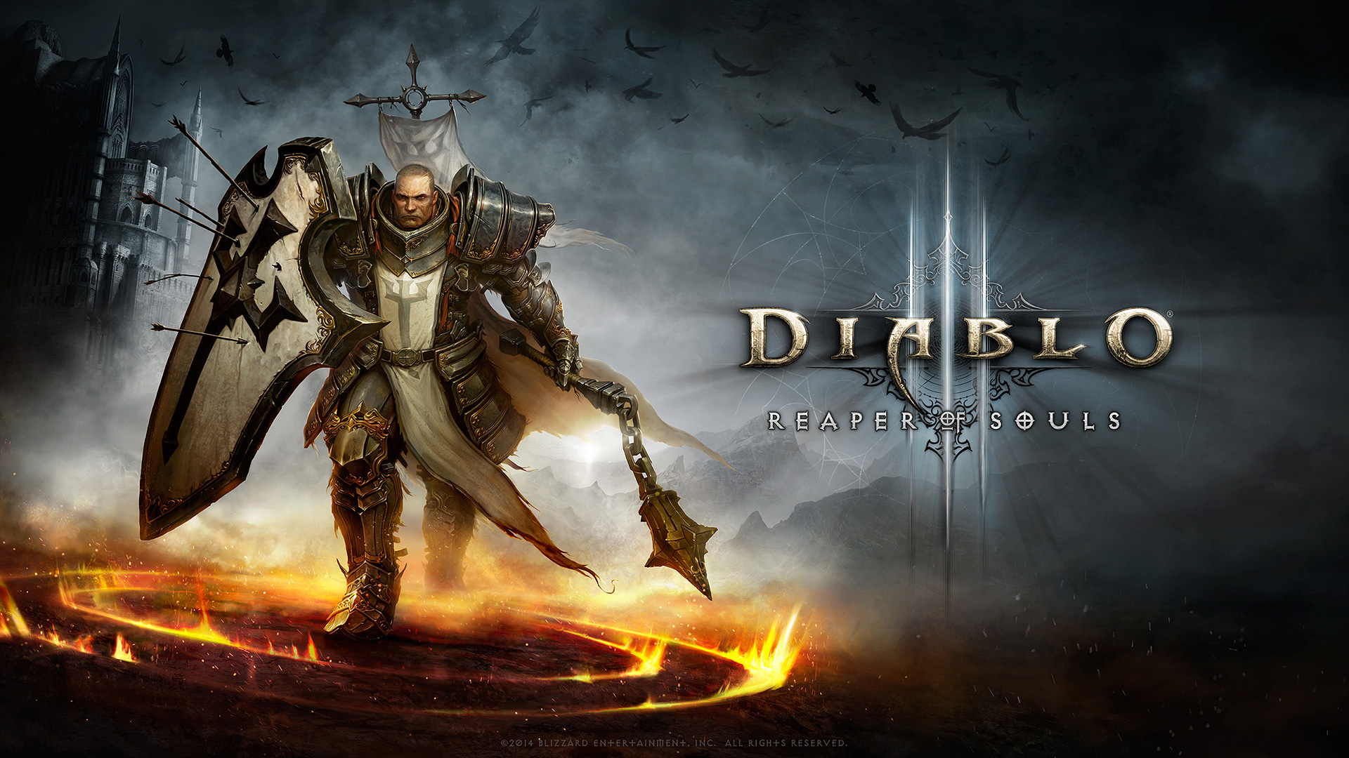 Diablo Wallpapers Group 1366?768 Diablo 3 Tyrael Wallpapers (33 ...