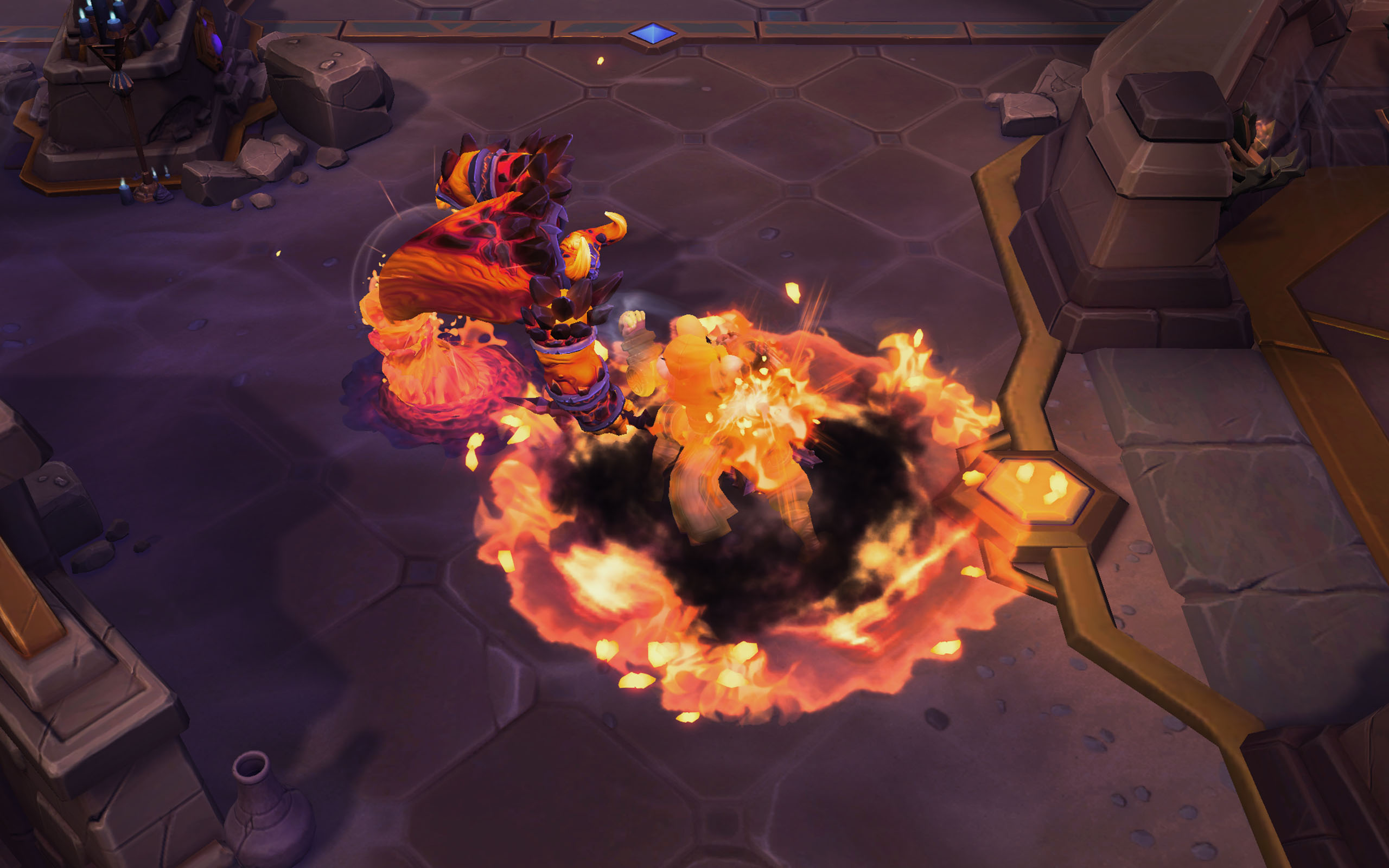 ragnaros - heroes of the storm