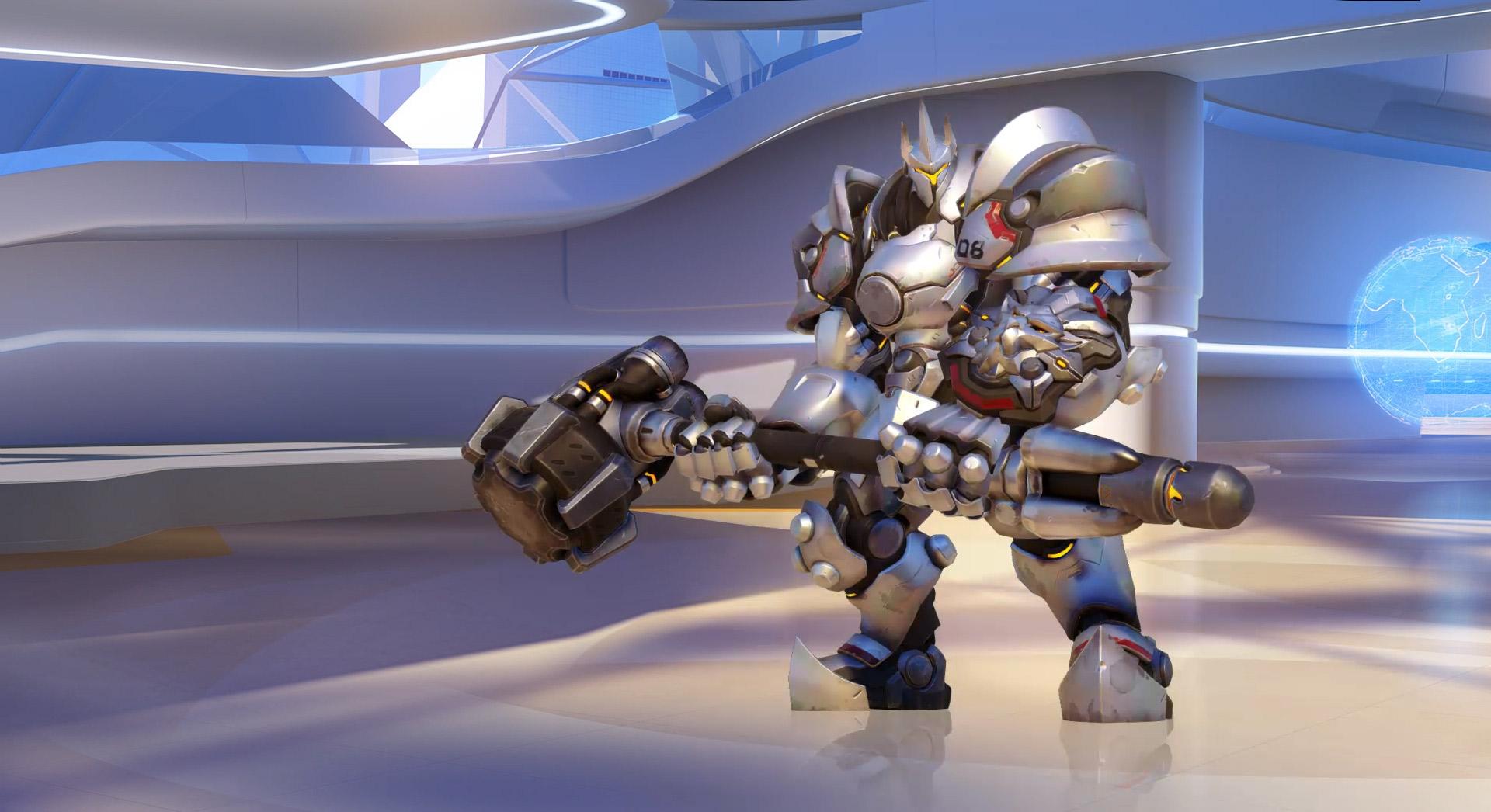Overwatch - Blizzard Background-summary-poster