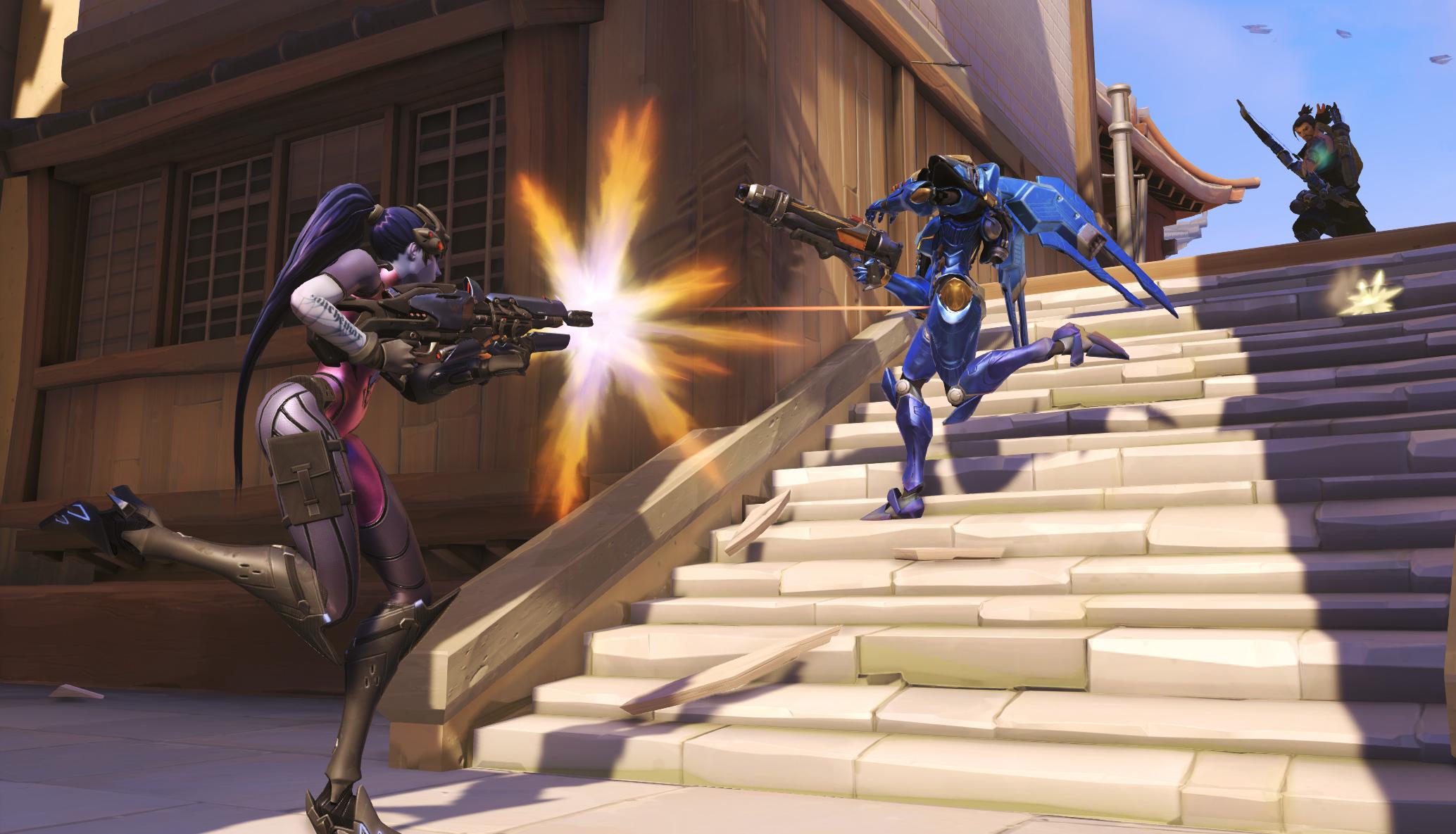- widowmaker screenshot 005 - La Beta cerrada de Overwatch acabará pronto.
